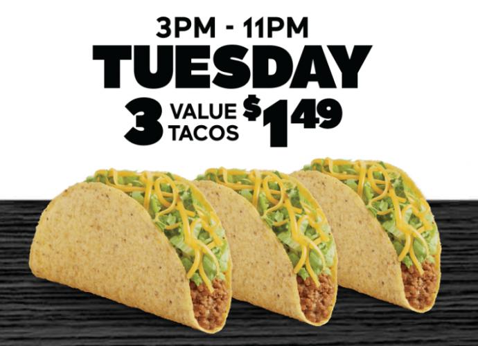 Del Taco Specials August 2019