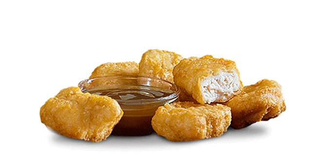 McDonalds 20 Piece Chicken Nuggets