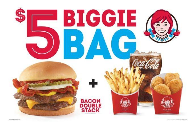 Wendys Biggie Bag Meal Deal September 2019